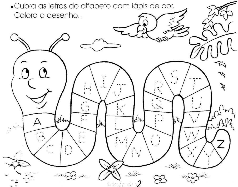 Conhecido Atividades Para Educação Infantil Com Alfabeto Para Imprimir  PL97