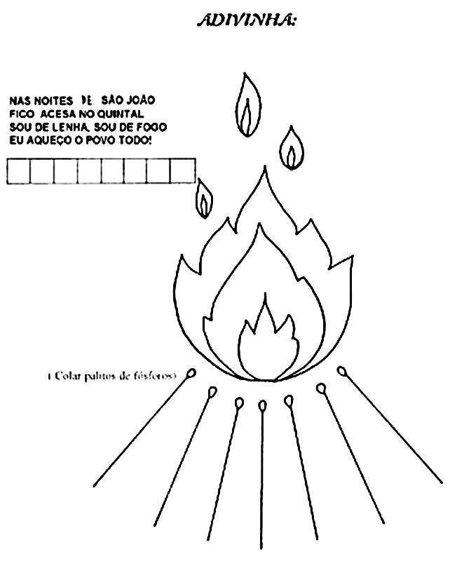 Atividades Para Educacao Infantil De Festa Junina Mensagens E