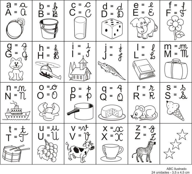 Atividades Para Educação Infantil Com Alfabeto Para Imprimir ...
