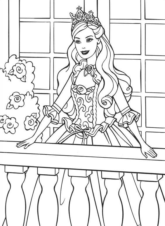 desenhos da barbie para colorir e imprimir mensagens e atividades
