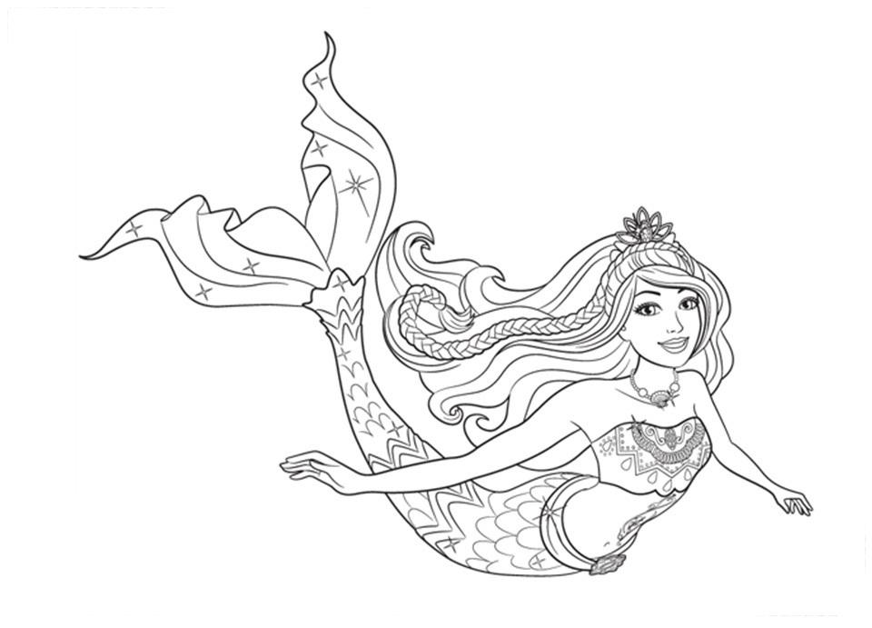 Desenhos Da Barbie Para Colorir E Imprimir