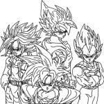 Imprimir Desenhos Dragon Ball Z Para Colorir