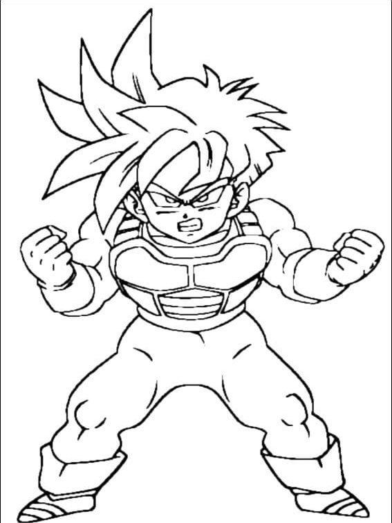 Imprimir Desenhos Dragon Ball Z