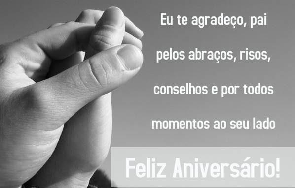Textos De Aniversario Para Pai Tumblr: Mensagens De Feliz Aniversario Do Pai Para Esse Dia