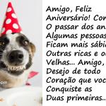 Mensagens de Feliz Aniversário Para o Amigo