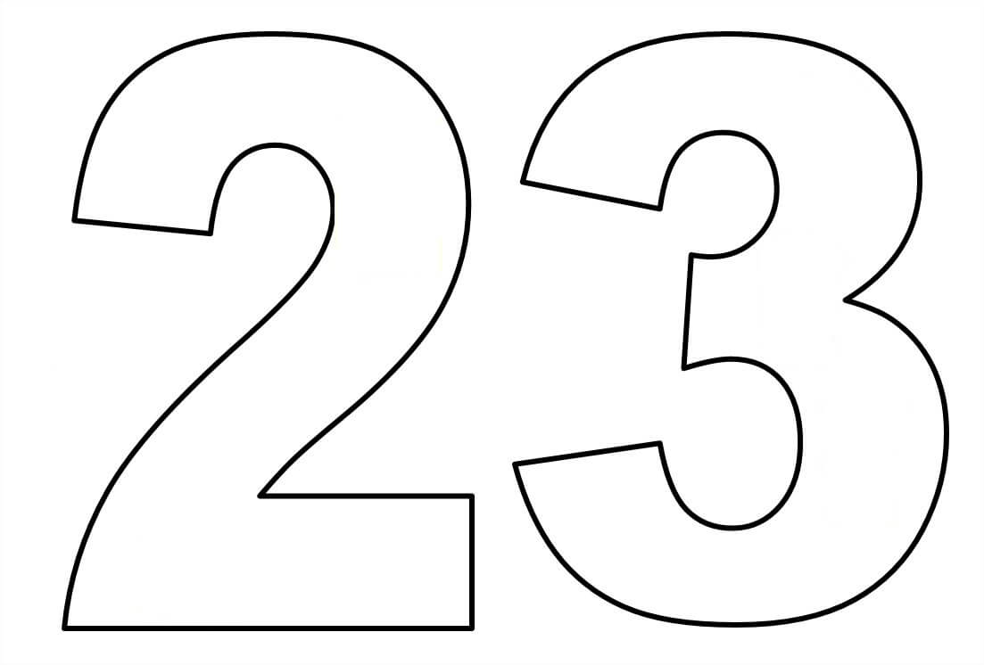Moldes De Números Em EVA Para Imprimir