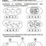 16 Atividades de Matemática 1° Ano Ensino Fundamental