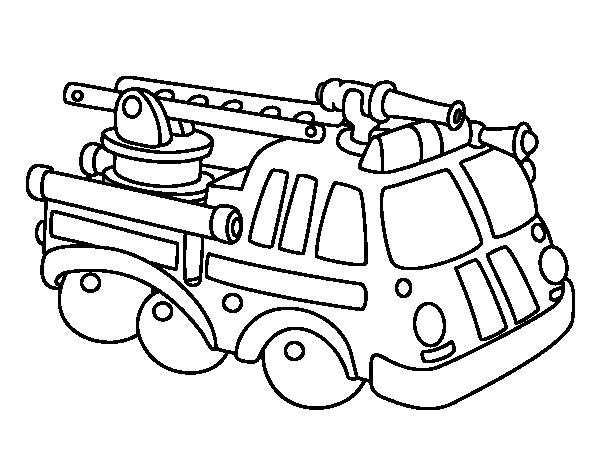 Desenhos De Bombeiro Para Colorir E Imprimir Mensagens E