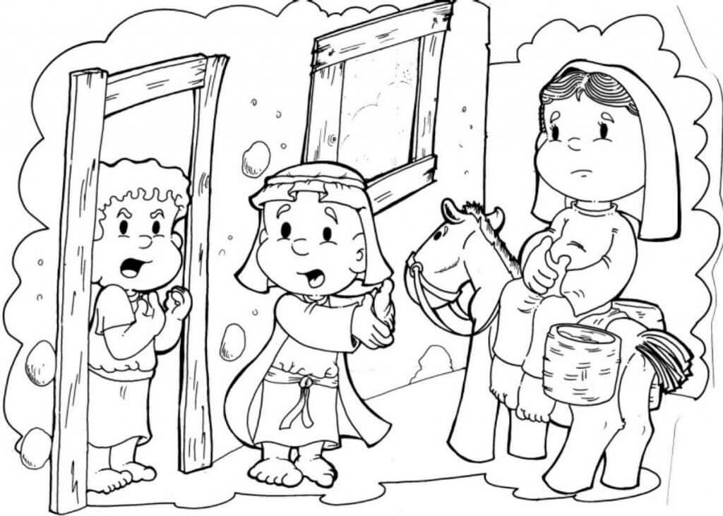 Desenhos De Natal Evangelico Para Colorir E Imprimir Mensagens E