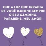 Belas Mensagens de Feliz Aniversário Para Namorada Para Face e Whats
