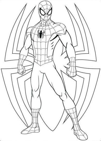 Desenhos Da Marvel Para Colorir E Imprimir Mensagens E Atividades