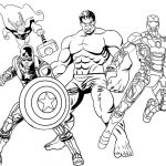 Desenhos da Marvel Para Colorir e Imprimir